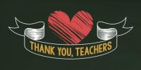 Thank You Teachers - Green