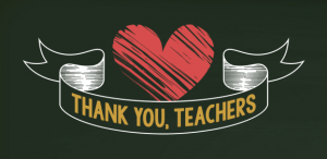Thank You Teachers - Green