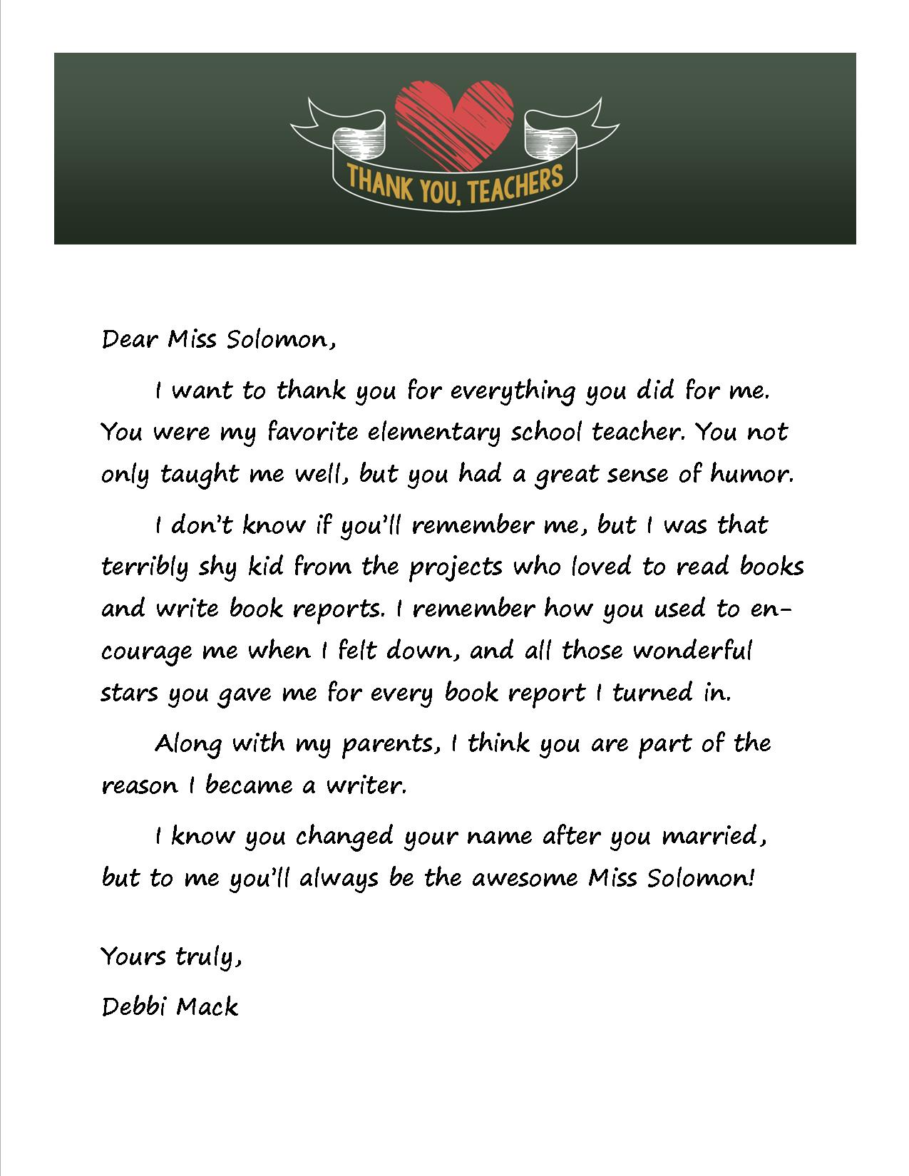 thank you teachers archives page 2 of 3 teaching with heart thank you letter to my parents