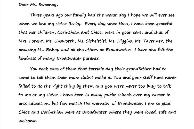 Thank you letter archives page 2 of 3 teaching with heart fire thank you teachers ms sweeney altavistaventures Image collections