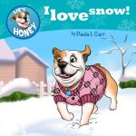 Cartoon-buldog-in-snow