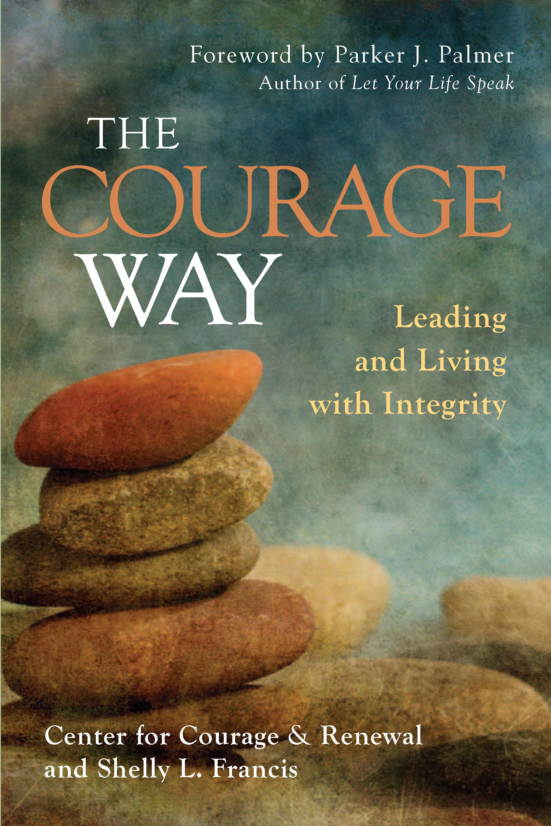Francis-Courage Way-cover-stones stacked
